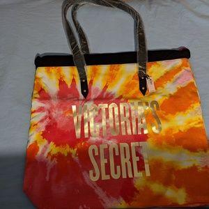 Victoria's Secret Tie Dye Large Tote NWT